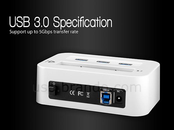 The Usb 3 0 Hdd Docking Station With Usb Hub Gadgetsin
