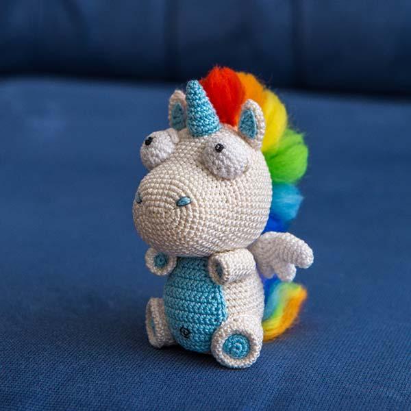Rainbow Unicorn Amigurumi Pattern