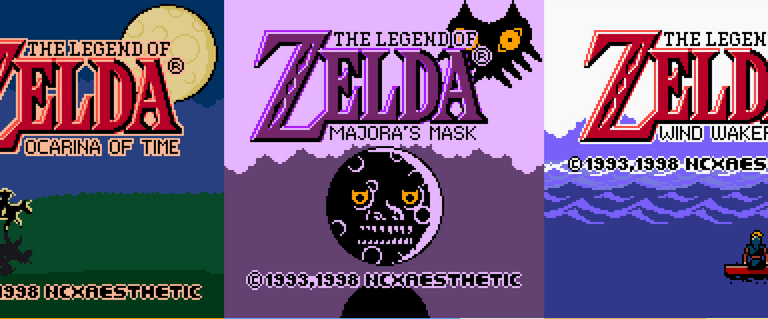 Fã de Legend of Zelda recria as aberturas 3D como se fossem em um Game Boy Color