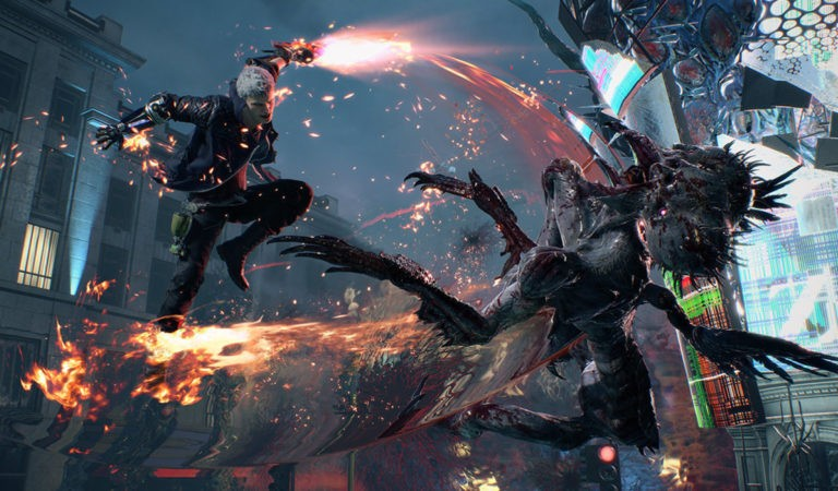 Review Devil May Cry 5 sem SPOILER
