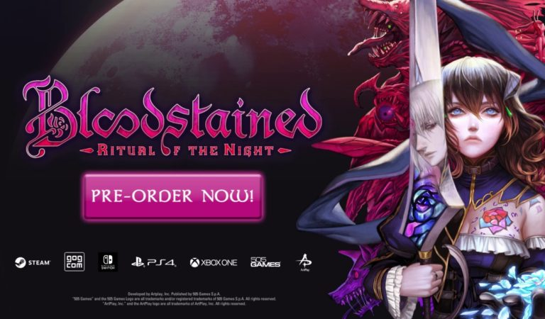 Confira o Novo Trailer de Bloodstained: Ritual of the Night
