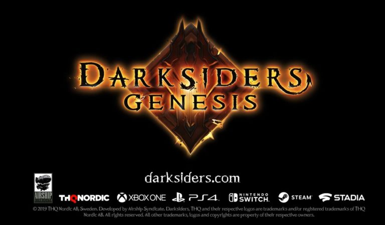 Darksiders Genesis é anunciado para todas as plataformas