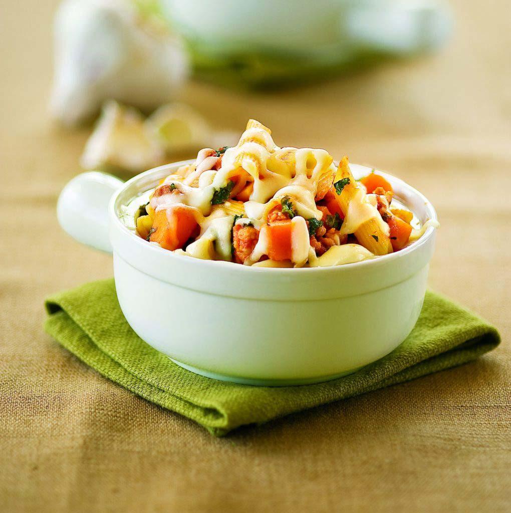 Kale And Butternut Squash Saute