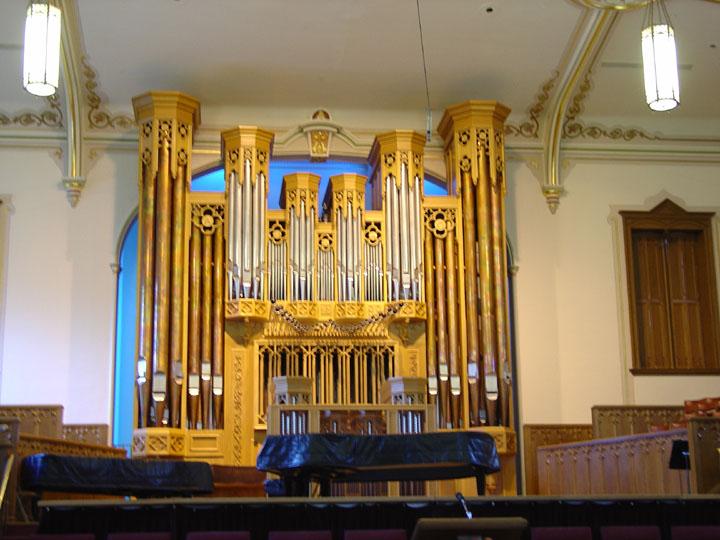 Salt Lake City Mormon Temple Interior