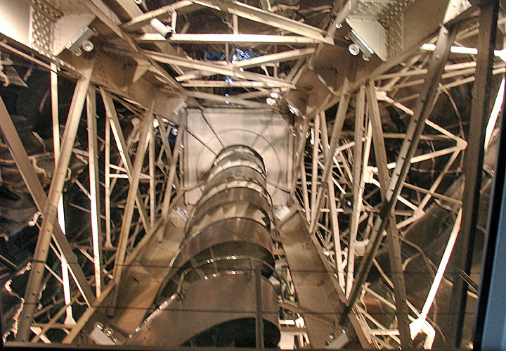 Inside Statue Liberty