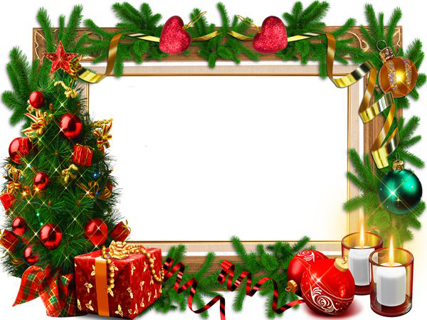 Christmas Picture Frames