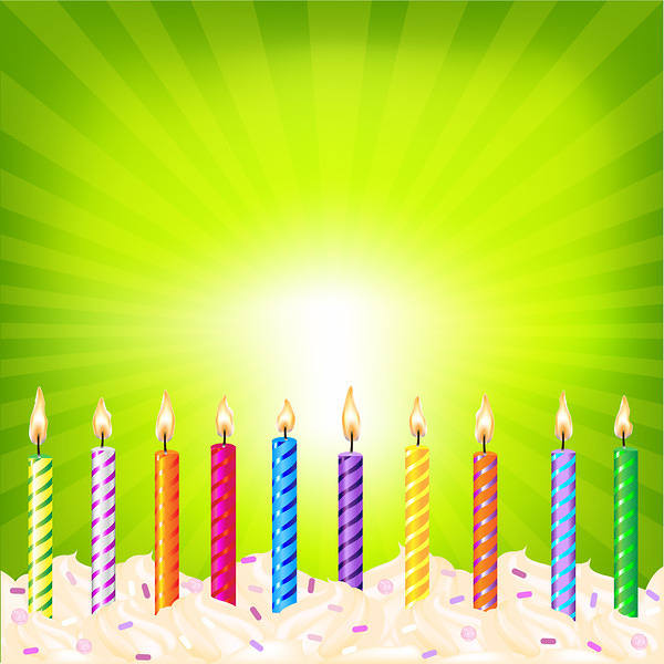 Birthday Background With Candles Gallery Yopriceville