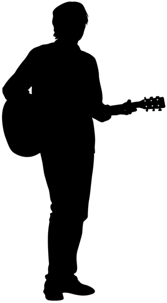 Guitarist Silhouette Png Clip Art Image Gallery
