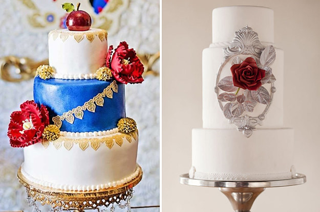 16 Disney Wedding Cakes That ll Fill You With Joy