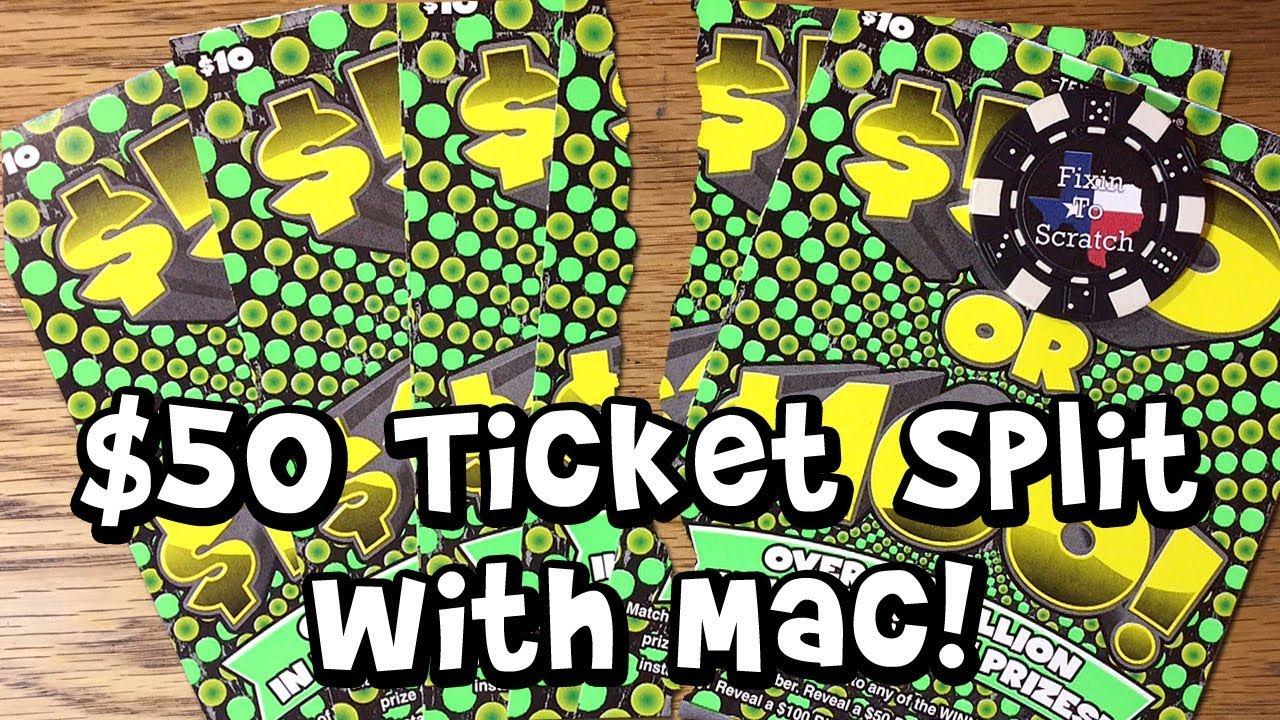 Texas Lottery Scratch 50