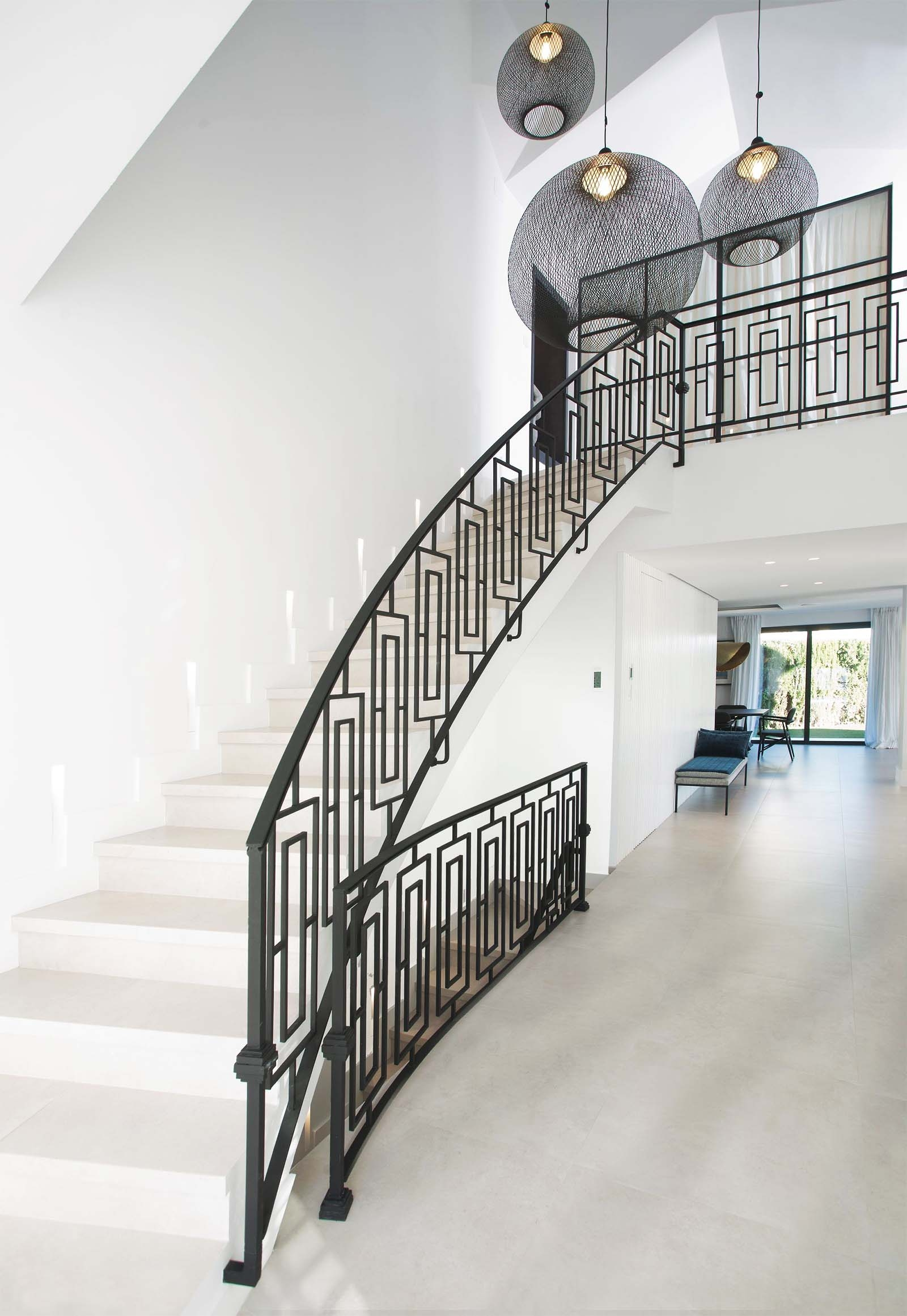 Modern Staircase Design Contemporary Stair Design Ideas   Staircase Side Railing Designs   Luxury Railing   Living Room   Modern Style   Beautiful   Stairway