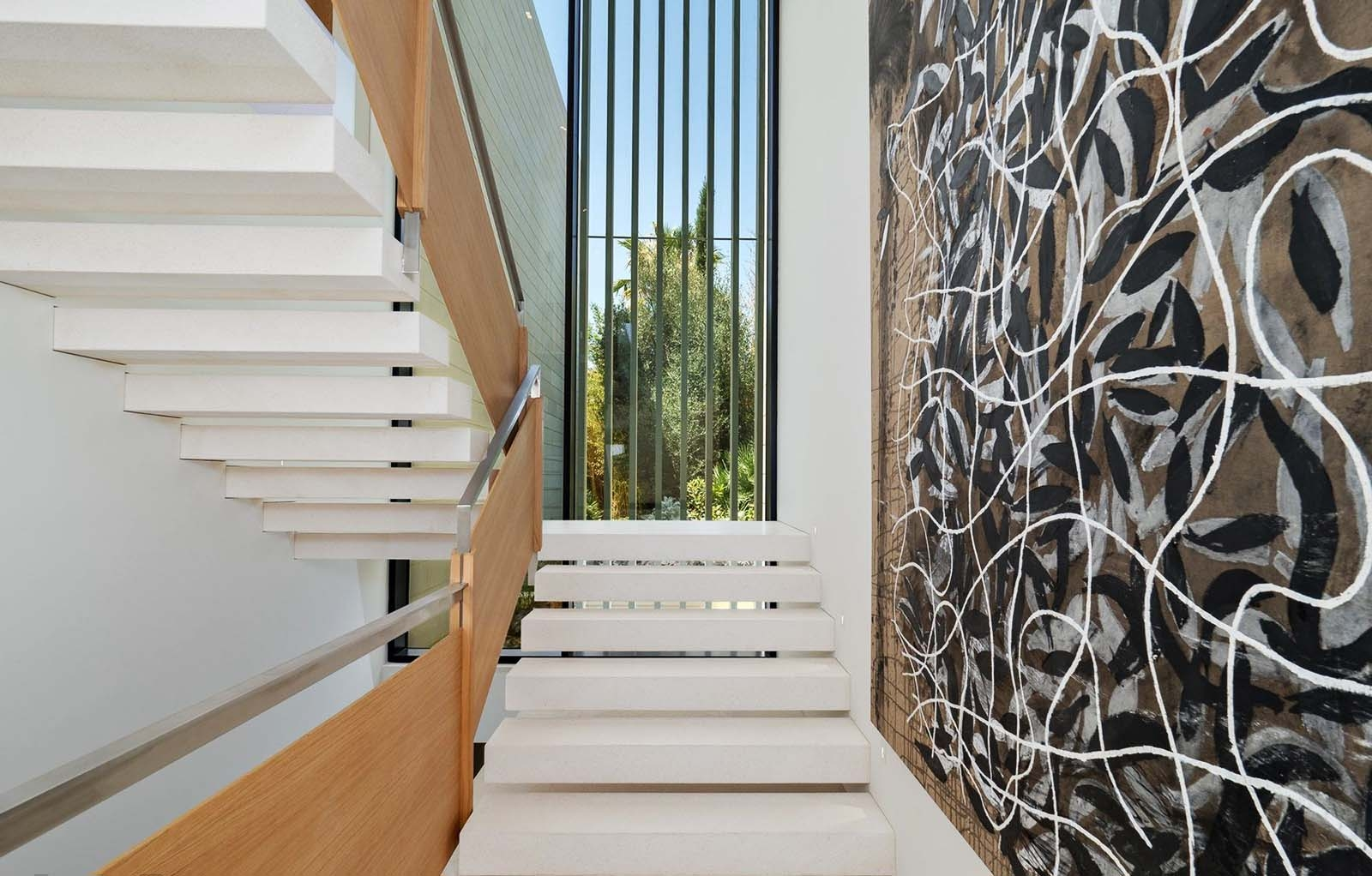 Modern Staircase Design Contemporary Stair Design Ideas | Modern Stair Hand Railing | Creative Outdoor Stair | Wooden Stair | Decorative | Curved Metal | Diy Modern