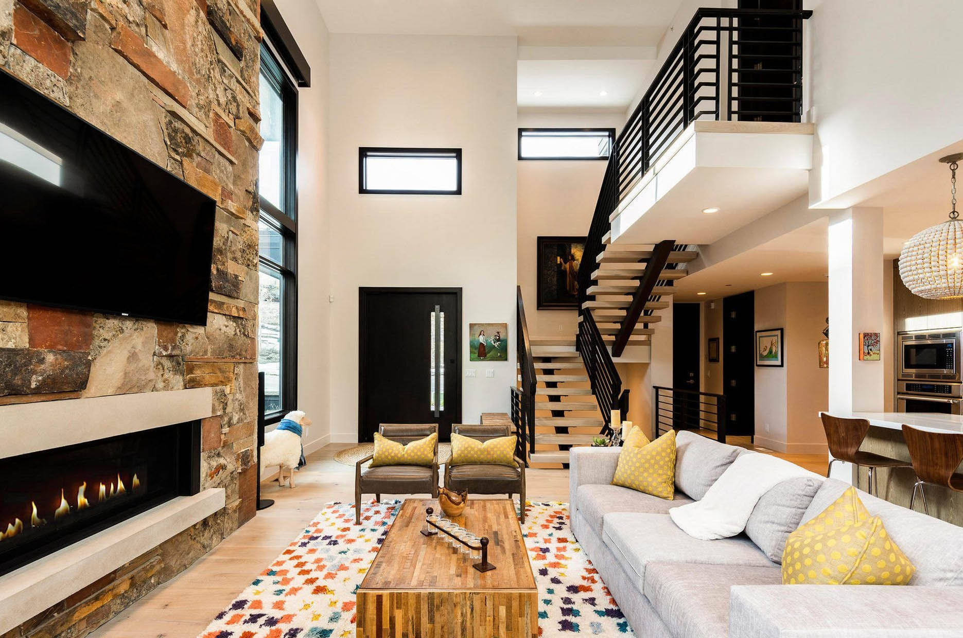 Modern Staircase Design Contemporary Stair Design Ideas | Home Interior Stairs Design | Wall | L Shaped | Elegant | American | Creative
