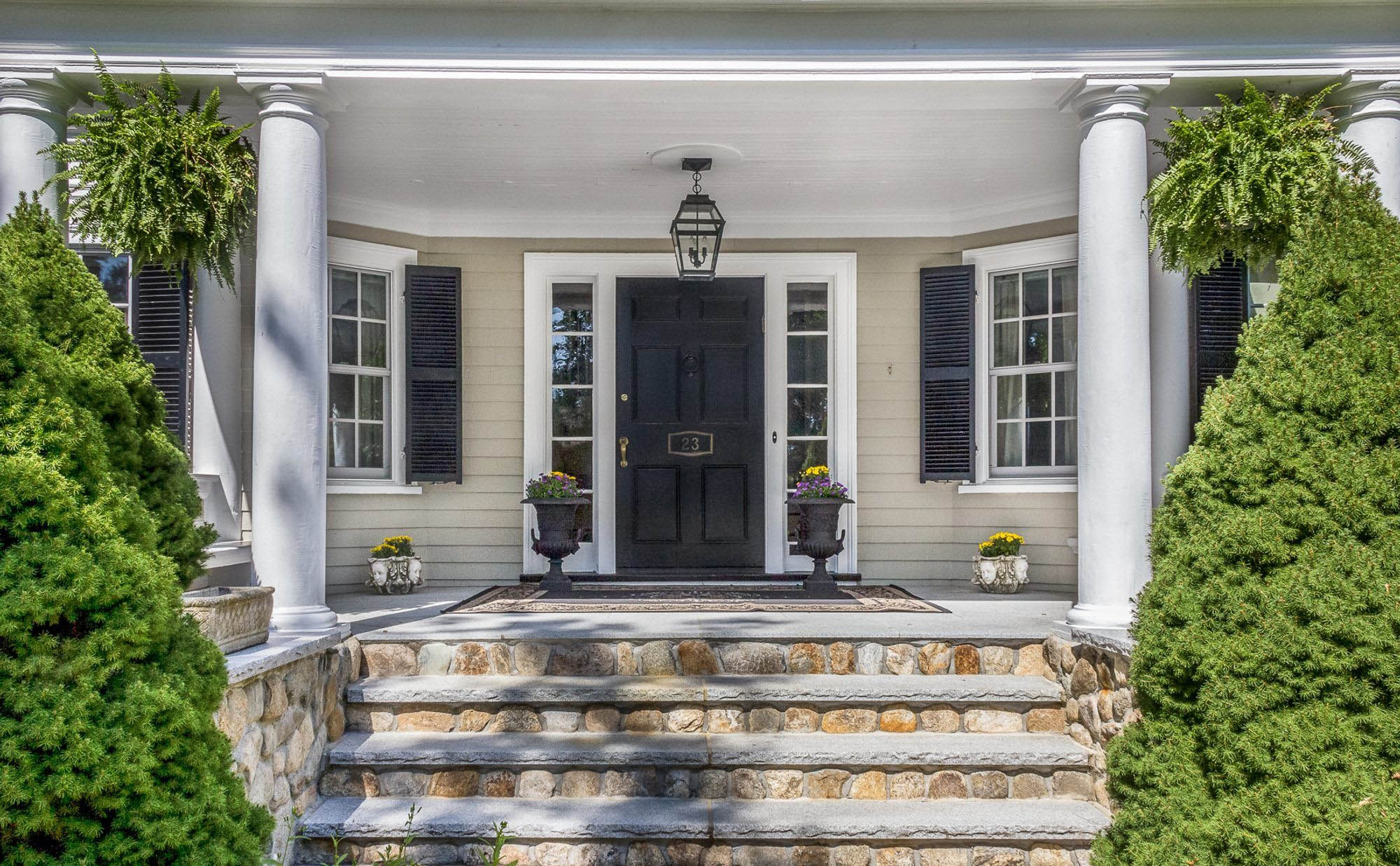 Front Porch Ideas Porch Decorating Design Ideas | Stone Front Porch Steps Designs | House | Stained Concrete | Round | Stone Walkway | Flagstone