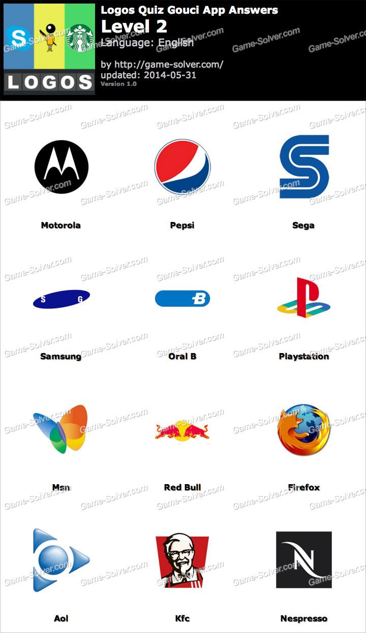 Logos Quiz Gouci App Level 2 - Game Solver