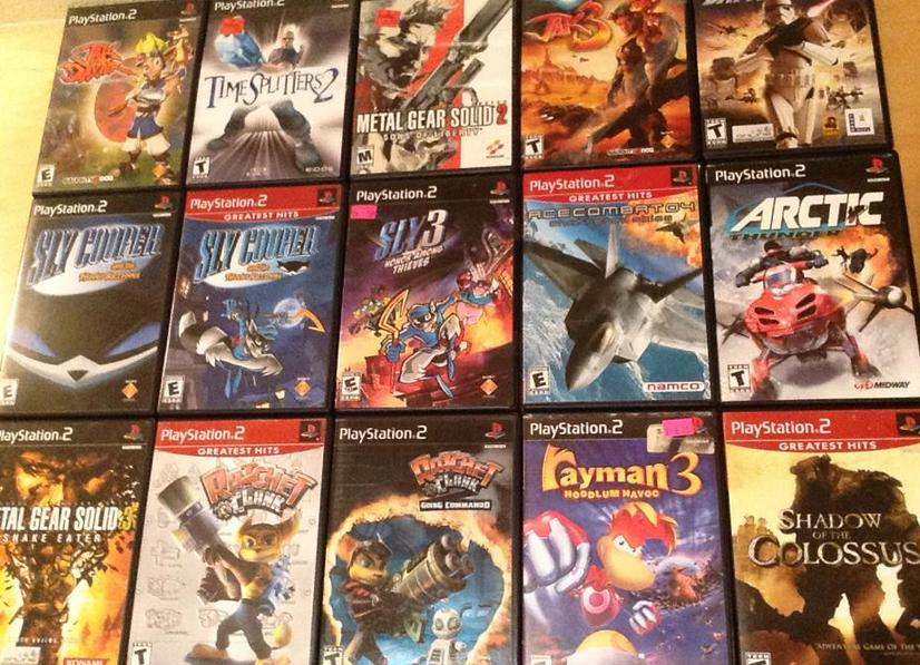 A Crash Course to Game Collecting     PlayStation 2     GameCola ps2collection1