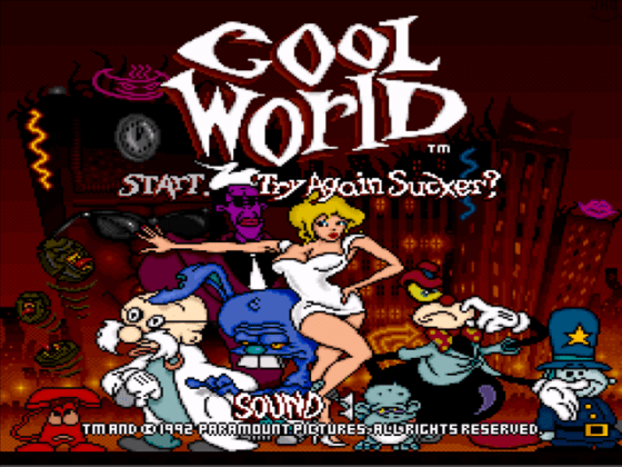 Cool World Download Game   GameFabrique     Cool World SNES Screenshot