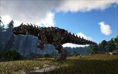 Mod Primal Fear Primal Tek Giga Official Ark Survival