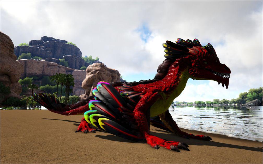 Mod Ark Eternal Eternal Alpha Rock Drake Official Ark