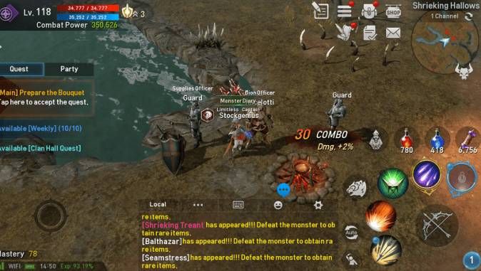 6 Fun MMORPG Mobile Games for Android and iOS   Gamer Dan Initially  MMO games were designed to be played on computers due to their  high processing power  However  in the past few years  mobile devices have  come a