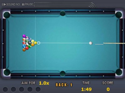 Quick shooting pool  Games online  game   Quick shooting pool