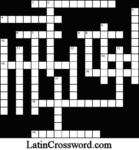 Ancient Greek Tragedy Crossword