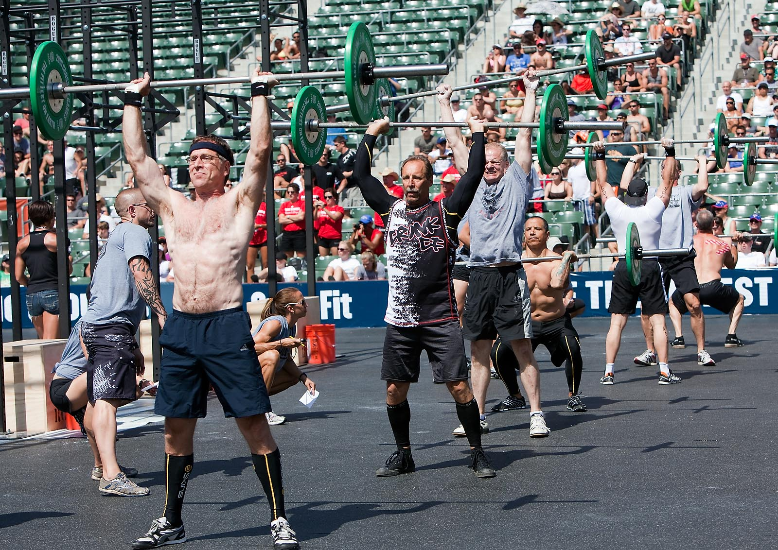 Video Master S Final Event 2010 Crossfit Games