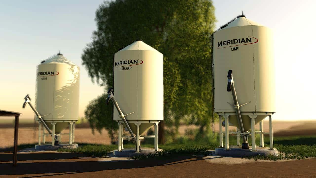 Meridian Fueltank And Bulkbins V1 0 187 Gamesmods Net Fs19