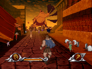 Disney's Action Game featuring Hercules. Disney (1997 ...