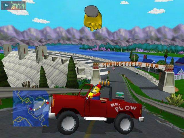 100 Greatest Open World Games 100  Simpsons Road Rage