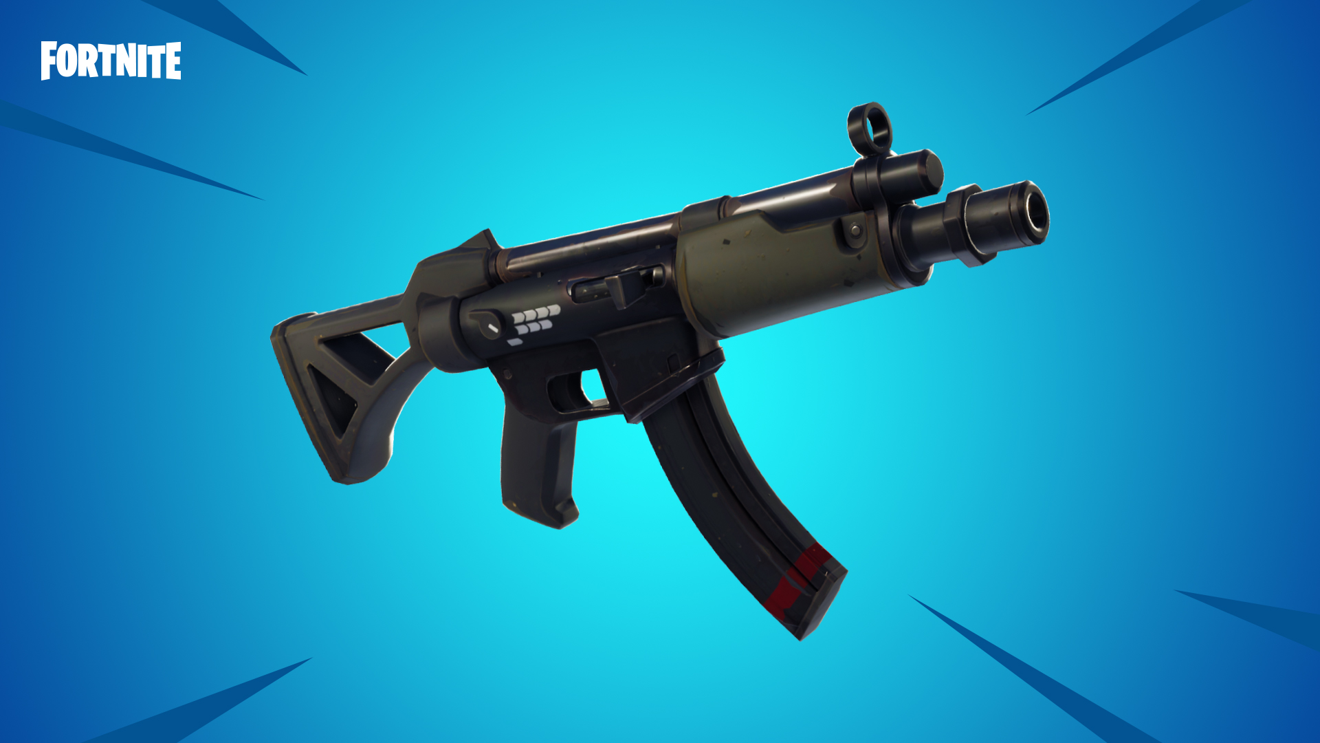 Fortnite s v5 0 Content Update Adds Submachine Gun  Typewriter     Fortnite s v5 0 Content Update Adds Submachine Gun  Typewriter Assault Rifle