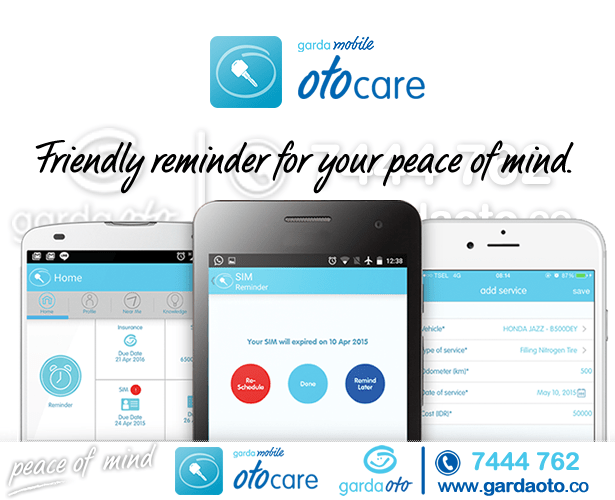 Otocare friendly reminder for peace of mind
