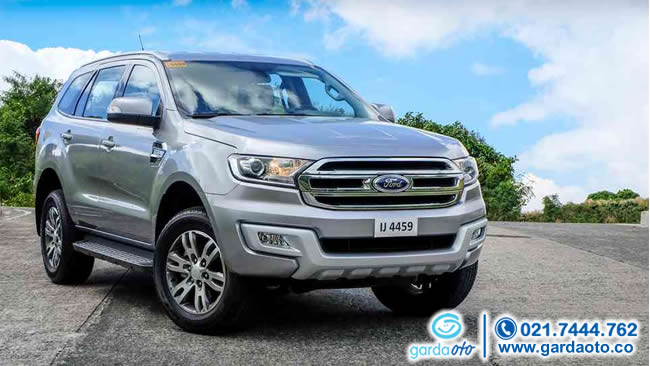 Simulasi Asuransi Garda Oto : FORD EVEREST ALL NEW TREND 4X4 AT