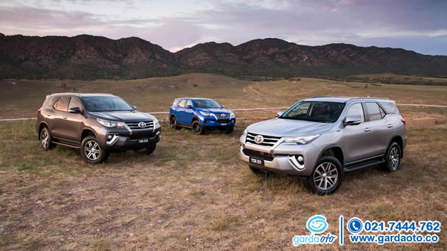 TOYOTA FORTUNER ALL NEW 2.7 SRZ LUX AT