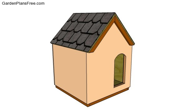 Insulated Dog House Plans   Free Garden Plans   How to build garden     Insulated dog house plans