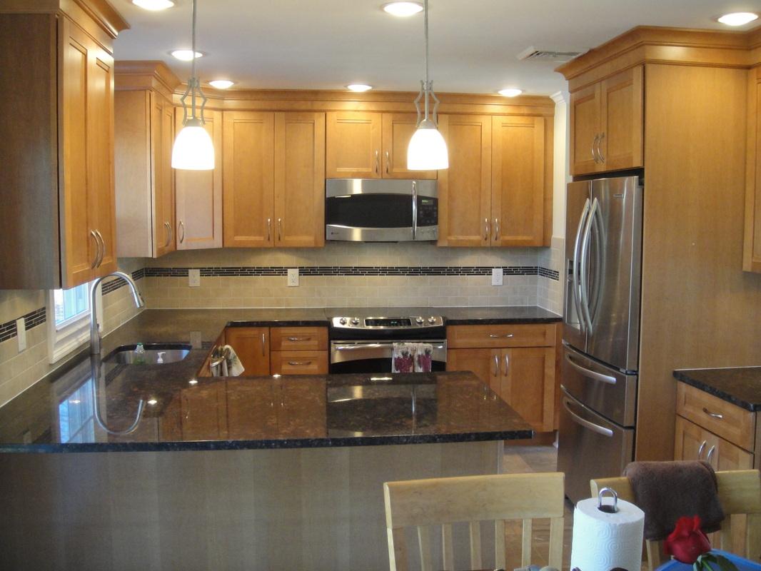 Kitchen Maple Cabinets Paint Colors Match