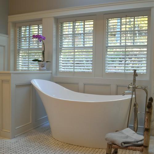 Formal Paneled Bath 171 Gary Arthurs Crafted Interiors