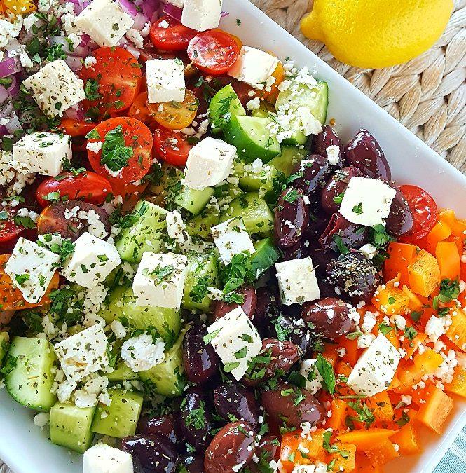 Fresh Order Mediterranean Salad