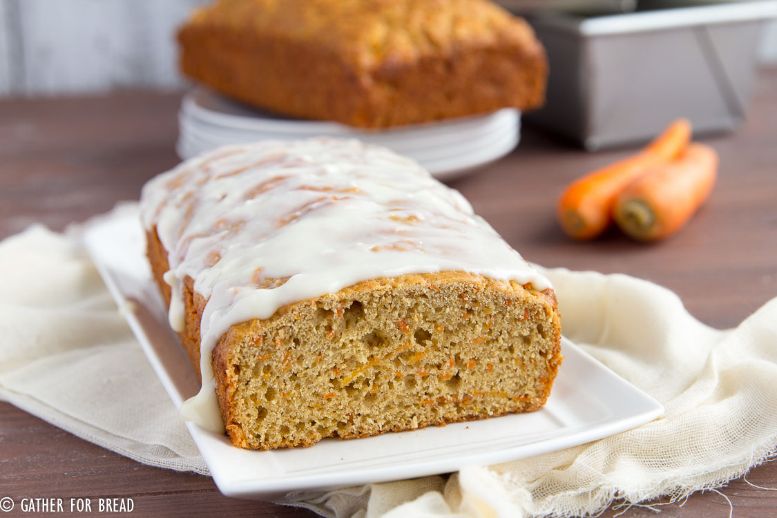 Carrot Cake Bread   Gather for Bread
