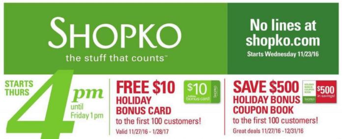Shopko Black Friday Deals - Full Ad Scan - Gazette Review