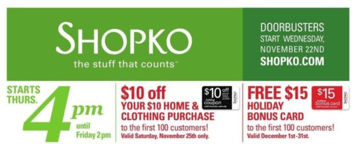 Shopko Black Friday Deals 2017 – Full Ad Scan Leaked ...