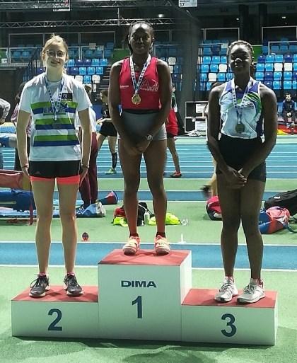 ATHLETICS: Vanessa Lokuli, queen of championships