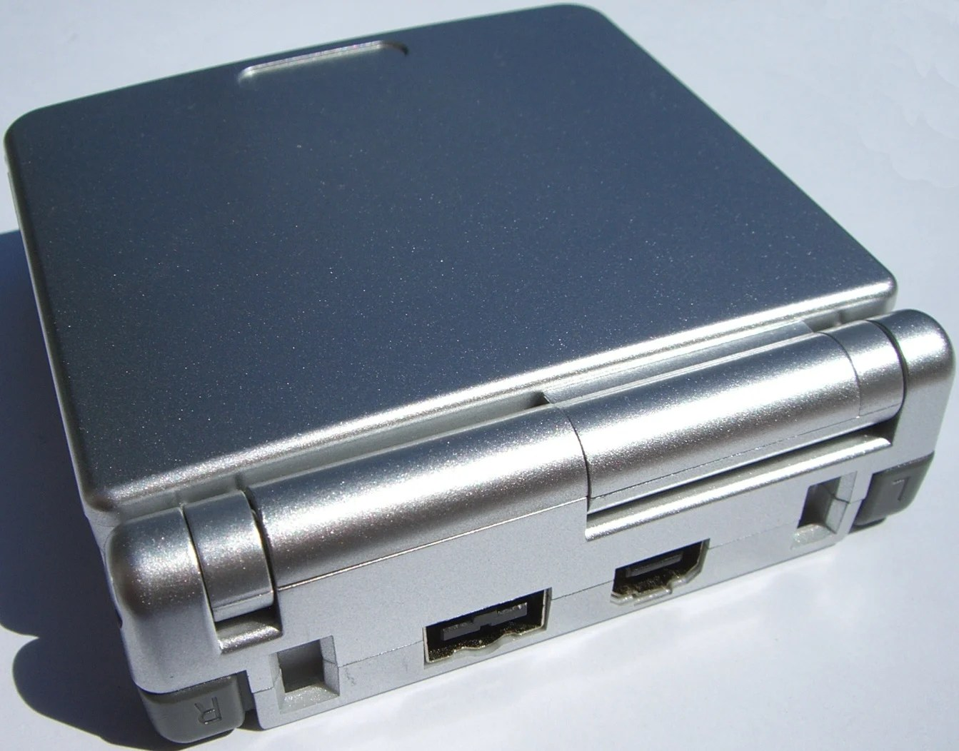 Gameboy Advance Sp Silver Daily Trending