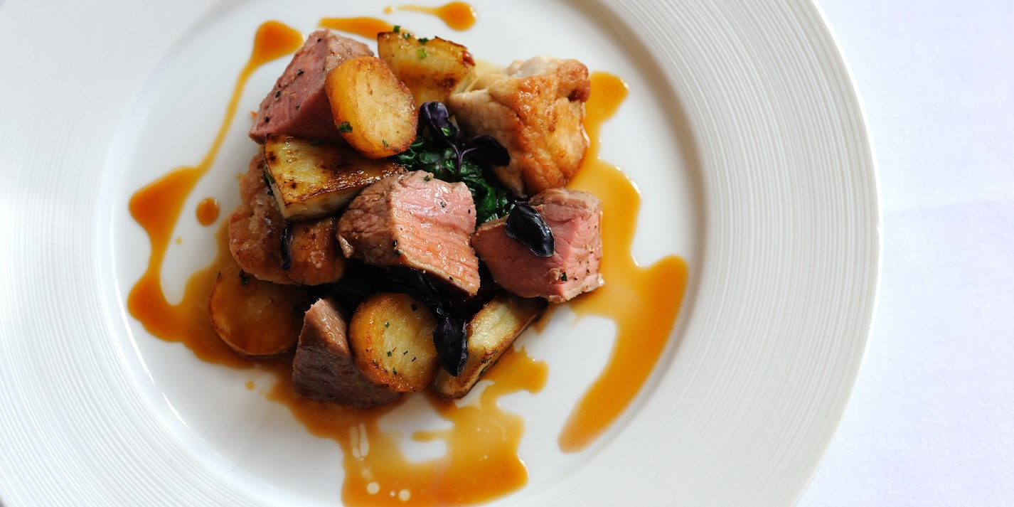 Ros 233 Veal Recipe With Sweetbreads And Potatoes Great