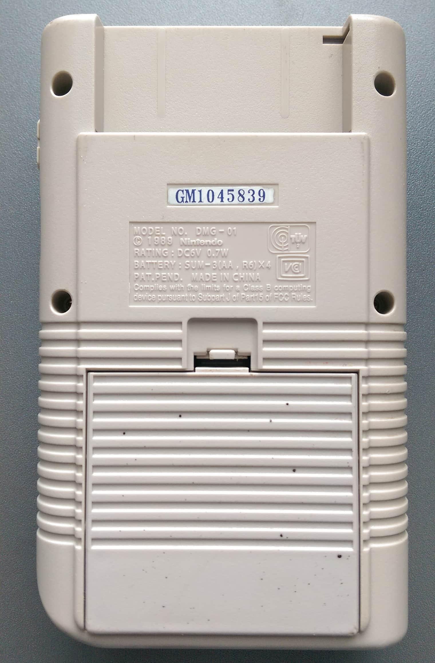 Dmg Gm1045839 Gekkio Game Boy Hardware Database