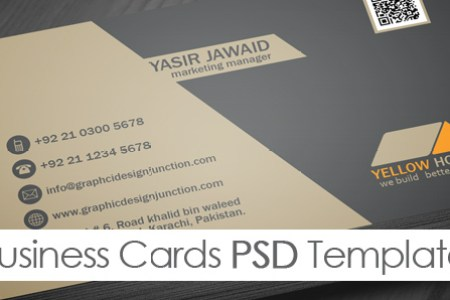 Free Real Estate Business Card Template  PSD    Freebies   Graphic     Free Real Estate Business Card Template  PSD