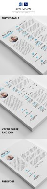 50 Best Minimal Resume Templates   Design   Graphic Design Junction 50 Best Minimal Resume Templates   26
