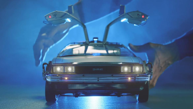 The Back To The Future 1 8 Scale Replica Delorean Is