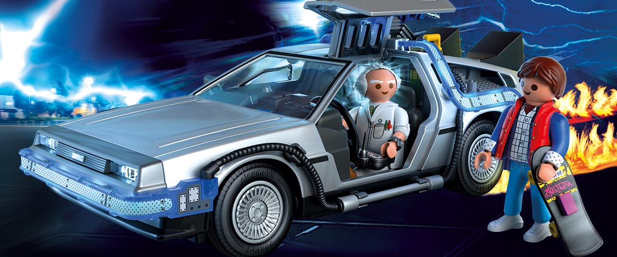It S Time To Go Back To The Future With Playmobil In 2020