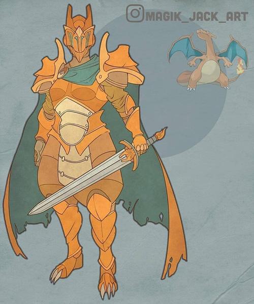 Pokemon Armor Fan Art